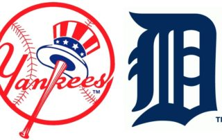 New York Yankees vs 1. Detroit Tigers