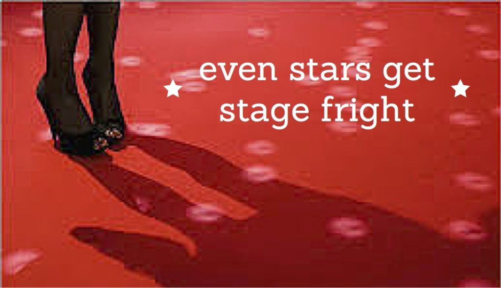 Even Stars Get Stage Fright image