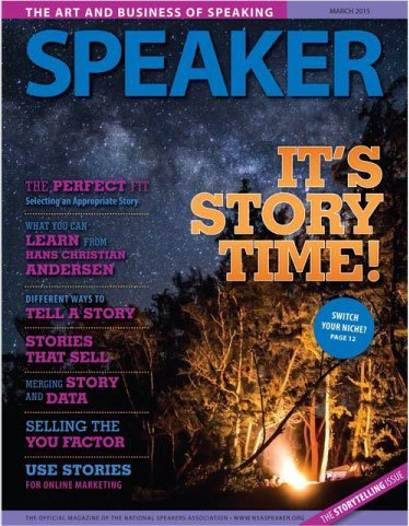 Speaker Magazine Cover March 2015