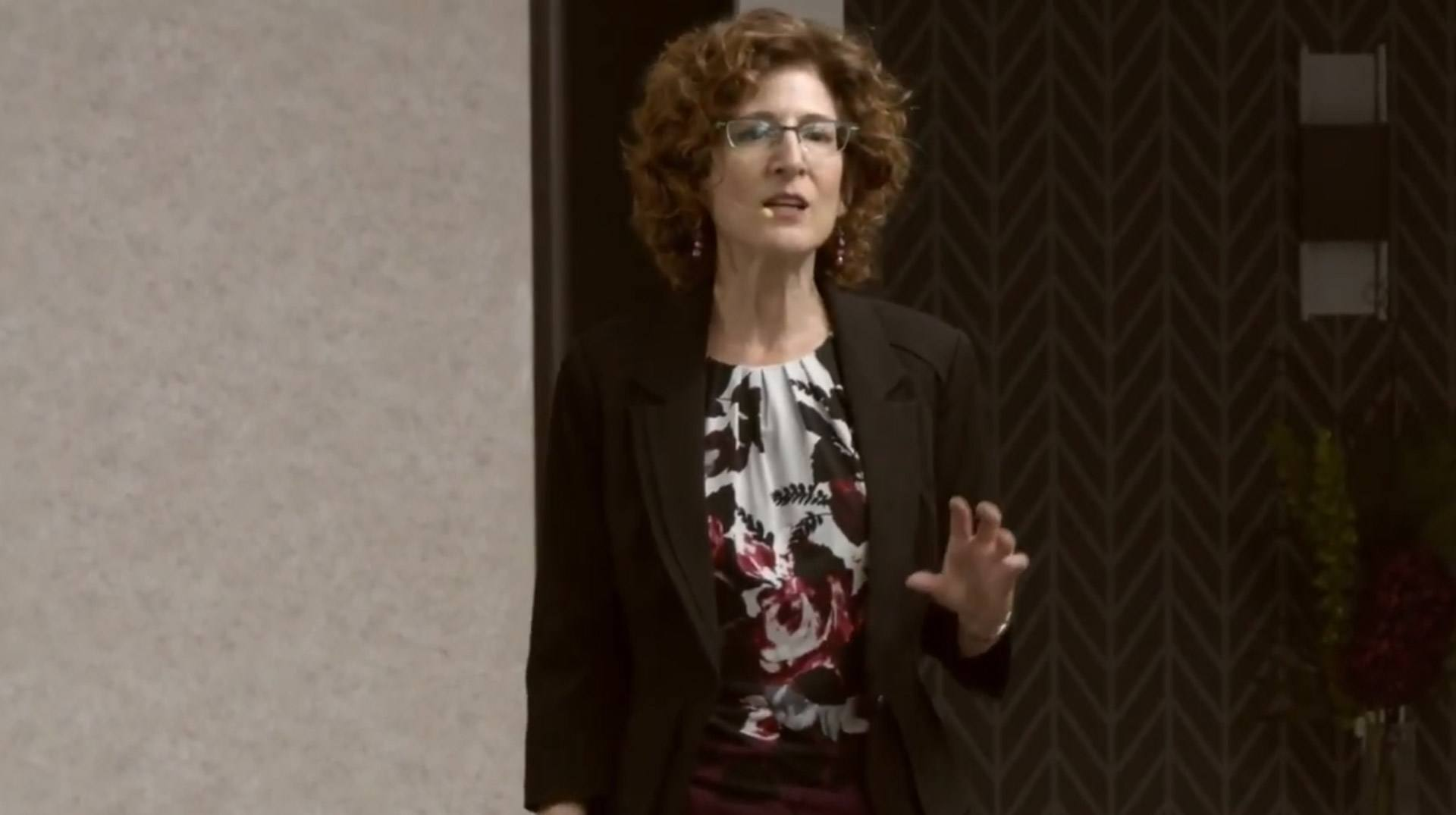 Carol Lempert, Keynote Speaker, presenting No More Death by Powerpoint - Part 2